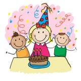 Żartuje urodziny Fotografia Stock
