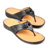 żeńscy buty Fotografia Stock