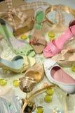 żeńscy buty Zdjęcie Stock