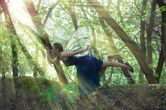 Żeńska energia Duchowe praktyki joga zdjęcie royalty free