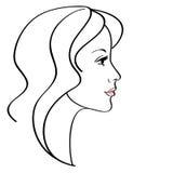 żeńska ikona Zdjęcie Stock