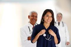 żeńska lekarki pielęgniarka Obrazy Stock