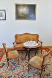 Żeńska połówka meble w żywym pokoju w Gatchina Zdjęcie Royalty Free