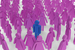 żeńska postać postacie samiec pojedynczy otaczający ilustracji