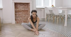 żeński ćwiczyć joga zbiory wideo