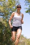 żeński biegacz Obraz Stock