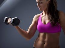 Żeński Bodybuilder Zdjęcia Stock
