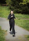 żeński jogger obrazy royalty free