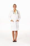 żeński medyczny fachowy studio Obraz Royalty Free