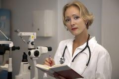 żeński medyczny profesjonalista Obrazy Stock