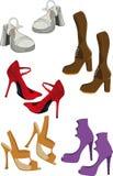 żeński obuwie Zdjęcie Royalty Free