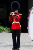Żeński orkiestra marsszowa członek Obraz Royalty Free