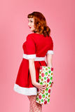 żeński Santa Fotografia Stock