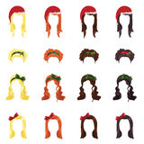 żeński włosy Obraz Royalty Free