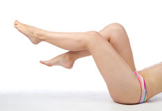 żeńskie nogi Fotografia Stock