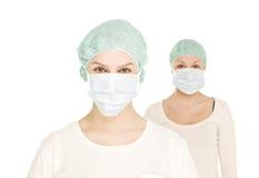 żeńskie pielęgniarki zdjęcie stock
