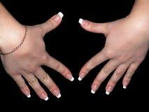 żeńskie ręki Obraz Stock