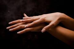 żeńskie ręki zdjęcie royalty free