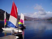 żeglować łodzią Obraz Royalty Free