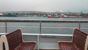 Żeglować na ferryboat przy Bosphorus zdjęcie wideo