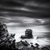 Żeglować skałę w Nopigia, Crete Zdjęcia Stock