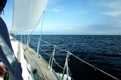żeglowań morza Obrazy Royalty Free