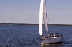żeglowania żagli statku biel jachty Fotografia Royalty Free