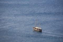 żeglowania morze zdjęcie stock