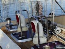 Żeglowanie łodzi szczegóły Fotografia Royalty Free