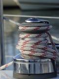 Żeglowanie łodzi szczegóły Obrazy Royalty Free