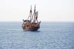 żeglowanie stary statek Fotografia Royalty Free
