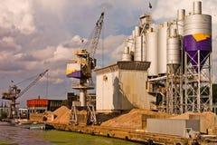żegluga portowej obrazy stock