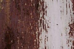 Żelazna powierzchnia z starą farbą obraz stock