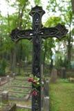 żelazny krzyż stary Fotografia Royalty Free