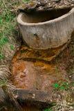 żelazo w wodzie zdjęcie stock