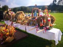 Żniwa fest Artystyczny spojrzenie w żywych colours zdjęcie stock