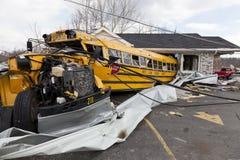 żniwa henryville Indiana tornado Obrazy Royalty Free