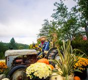 Żniwo i jesień pokaz Zdjęcia Royalty Free