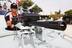 żołnierz łódkowata prędkość Obraz Stock