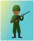 żołnierz royalty ilustracja