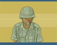 żołnierz ilustracja wektor