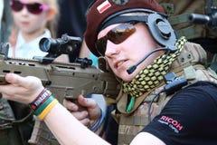 żołnierz Zdjęcia Stock
