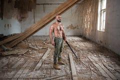 Żołnierz Celuje Maszynowego pistolet Obrazy Stock