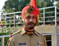 Żołnierz Hinduski fotografia stock