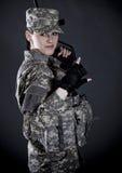 żołnierz kobieta Zdjęcia Royalty Free