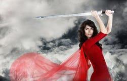 żołnierz kobieta Obrazy Stock