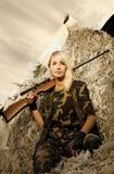 żołnierz kobieta Zdjęcie Stock