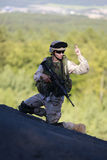 żołnierz my Fotografia Royalty Free