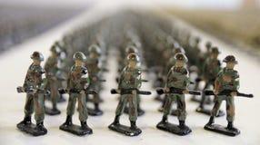 żołnierz ołowiana zabawka Zdjęcie Stock