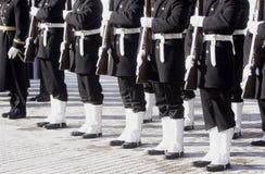 żołnierz piechoty morskiej Zdjęcia Royalty Free